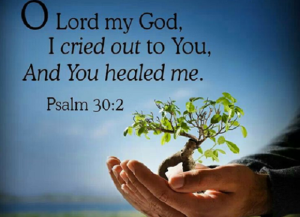 jesus healed me